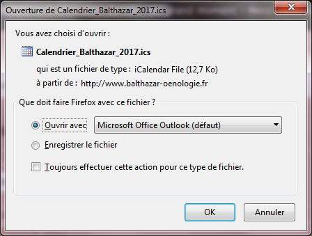 import calendrier