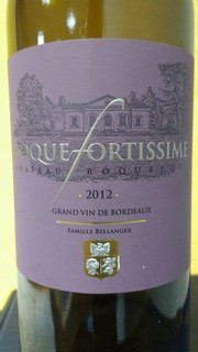 Chateau Roquefort Roquefortissime rouge 2012 small